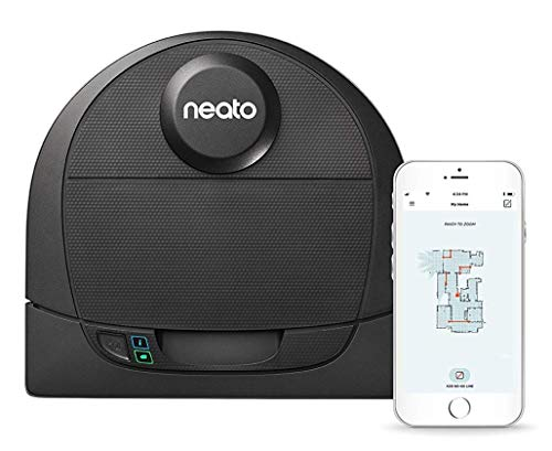 Buy Neato Robotics D4 Connected Laser Guided Robot Vacuum Featuring No-Go Lines, Works with Amazon A...
