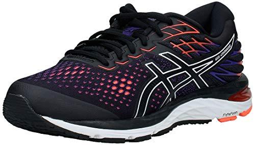 Asics Gel-Cumulus 21, Zapatillas de Running para Hombre, Negro (Black/Flash Coral 002), 44.5 EU