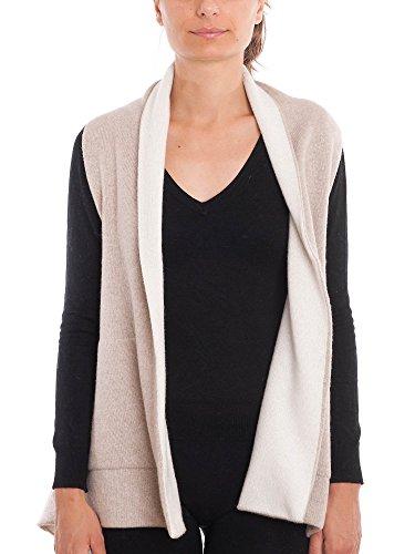 DALLE PIANE CASHMERE - Mantel aus Cashmere-Gemisch - für Damen, Farbe: BeigeCreme, Einheitsgröße