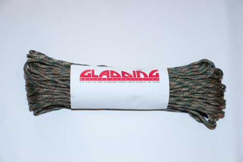 Gladding 550Paracord (7-Strand) 100FT, Multi-Cam