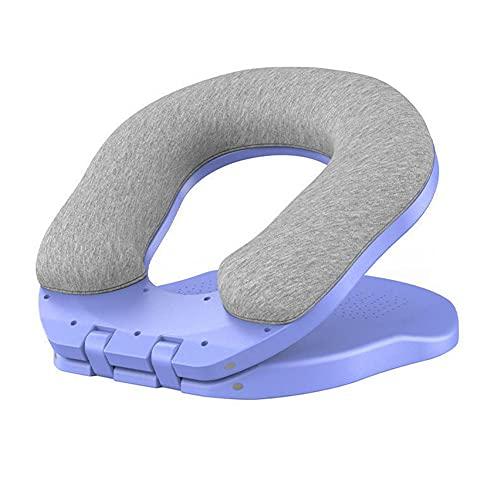 NBEEGFG Almohada de dormir para dormir de siesta, plegable, cojín de escritorio para oficina, escuela, evita que se adormecan las manos, anti presión (color azul)