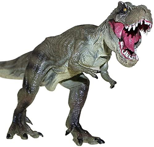 Großer Dinosaurier Spielzeug Tyrannosaurus Rex 12 Zoll, Kunststoff Jurassic World Dinosaurier Abbildung Realistisches Bildungsmodell Tier Figur, Sammlung Dino Modell Spielzeug Weihnachten und Neujahr