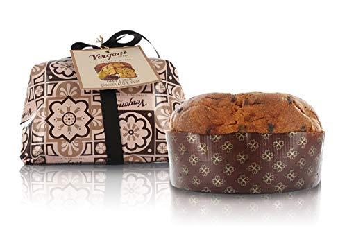 Panettone Italiano con trocitos de Chocolate Negro y Pera - 1 kg