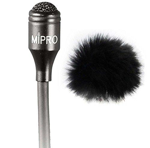 Mipro mu 55L condensador Lavalier corbata Micrófono Keepdrum ws05Mini Piel Protector de viento