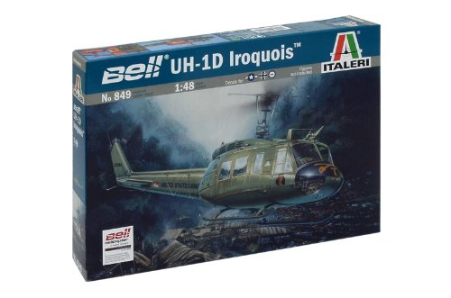 Italeri 510000849 - 1:48 UH-1D Slick Flugzeug