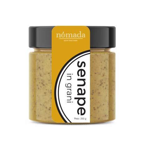 SENAPE IN GRANI ancient 150 GR NÓMADA SPICE FOOD TRADE condimento gastronomico SALSA per carne pesce verdure