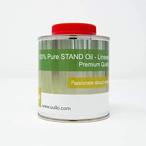 Uulki Olio di Lino per Pittura - Olio di semi di lino (250 ml)