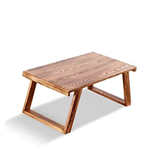 Multifunctioneel opvouwbaar, tafel, grenen, paneel, nachtkastje, draagbaar, ruimtebesparend, eettafel, bureau, multifunctioneel, ladingdragende 100 kg (Maat: L)