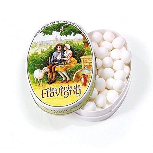 Flavigny - boite ovale 50g gout anis