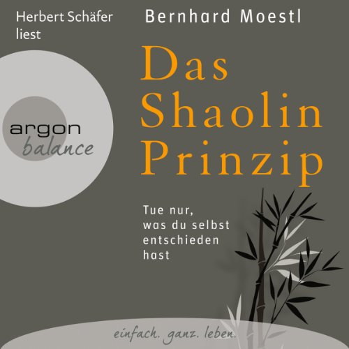 Das Shaolin-Prinzip audiobook cover art
