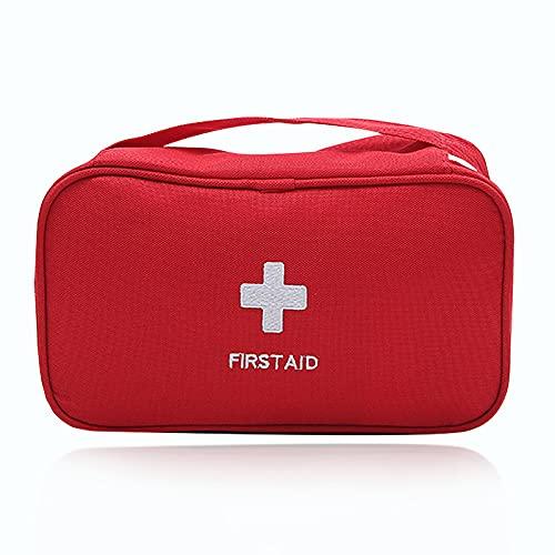 Erste Hilfe Set Reiseapotheke Tragbare First Aid Kit Große Kapazität Leer Notfalltasche Erste Hilfe Koffer wasserdicht Medizinische Taschen für Haus Auto Camping Wandern Büro Überleben und Reisen