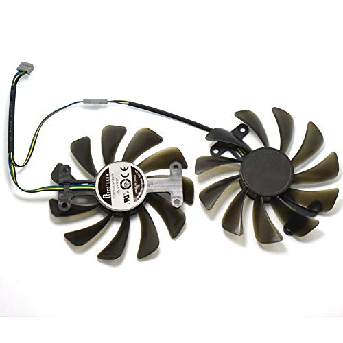 GF10012H12SPA Grafikkartenlüfter Graphics Card Fan 12V 0.5A 95mm 4Pin für ZOTAC GeForce GTX 1080 AMP Edition Grafikkarte
