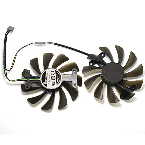 GF10012H12SPA 12V 0.5A 95mm 4Pin Ventilador de Refrigeración de Repuesto Graphics Card Fan para ZOTAC GeForce GTX 1080 AMP Graphics Card Fan Replacement