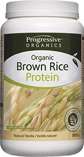 Progressive Organic Rice Protein 800g/28.21oz - Vanilla {Imported from Canada}