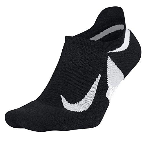 NIKE U Nk ELT Cush NS Calcetines unisex para correr, Negro (Negro/Blanco/010), 42-46 EU para Hombre