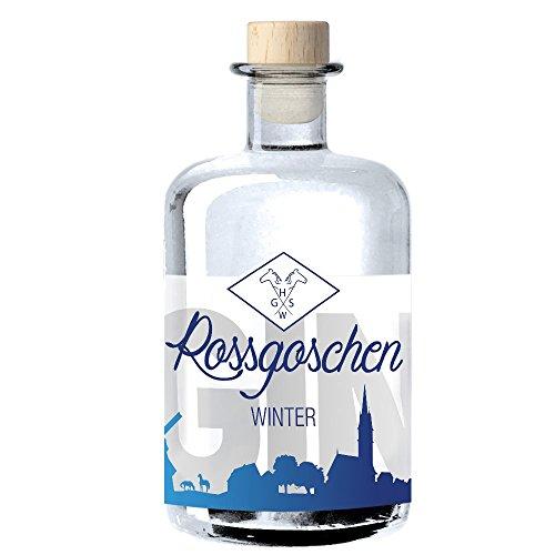Rossgoschen Gin | Jahreszeiten-Gin: Vielseitig & perfekt zu jeder Zeit | Handcrafted in Hannover: Small Batch Premium Gin | Ideal als Gin & Tonic oder als Geschenk | 40% vol, 0,5 l
