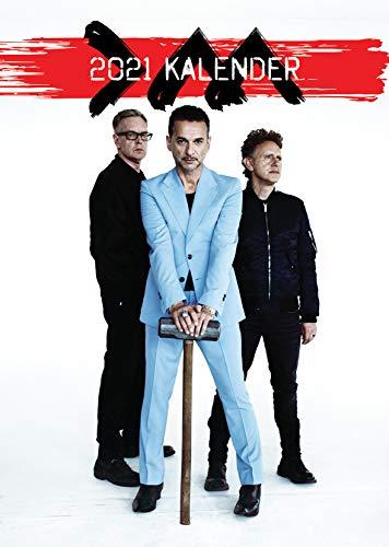 Depeche Mode 2021 Kalender A3