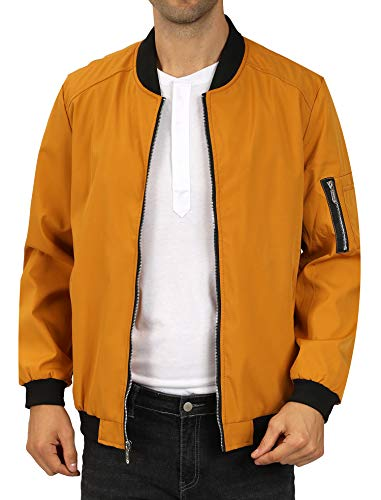 Top 10 Best Mens Yellow Bomber Jacket Comparison