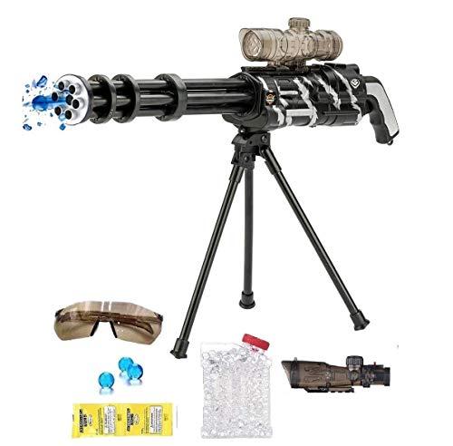 Brigamo Elektrische Gatling Gun Maschinengewehr Spielzeug Gewehr Spielzeugblaster