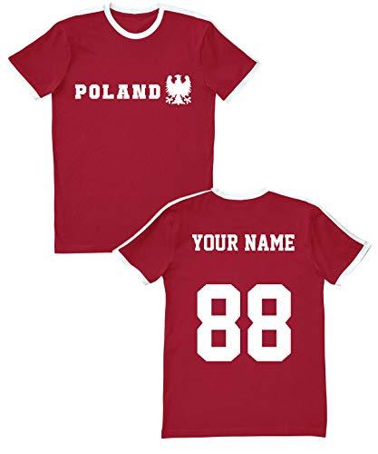 Poland Soccer Jersey T Shirts - Custom Unisex Jerseys & Personalized Team Uniforms