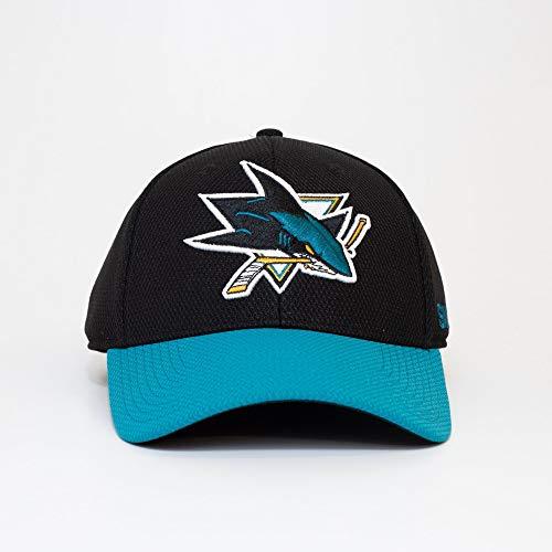 adidas San Jose Sharks 2019/20 NHL Coach Flex Fit NHL Cap, S/M
