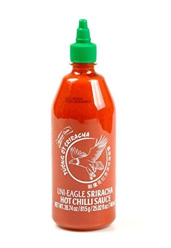 UNI EAGLE Salsa Sriracha Picante, La Salsa Picante Mas Conocido del Mundo despues del Tabasco 815g