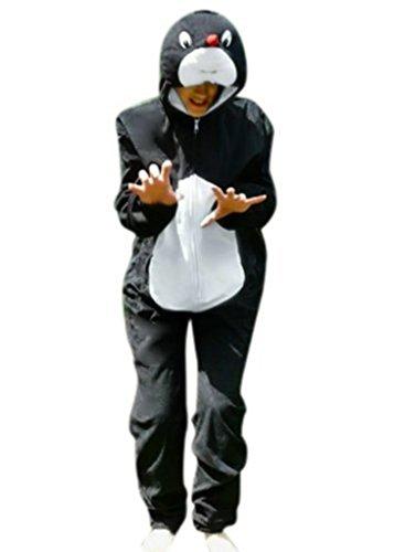 Maulwurf-Kostüm, AN47 Gr. M-L, Karnevalskostüm für Männer und Frauen, Maulwurf-Kostüme für Fasching Karneval, Maulwürfe als Karnevals- Fasnachts-Kostüm, Tier-Kostüme Faschings-Kostüme Erwachsene