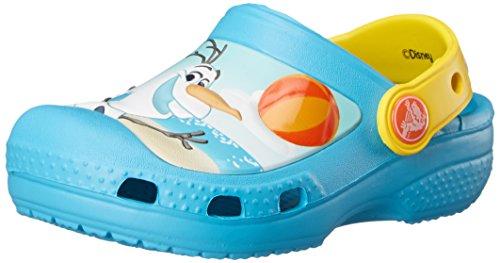 Crocs Creative Crocs Olaf Clog, Unisex - Kinder Clogs, Blau (Electric Blue), 29/31 EU