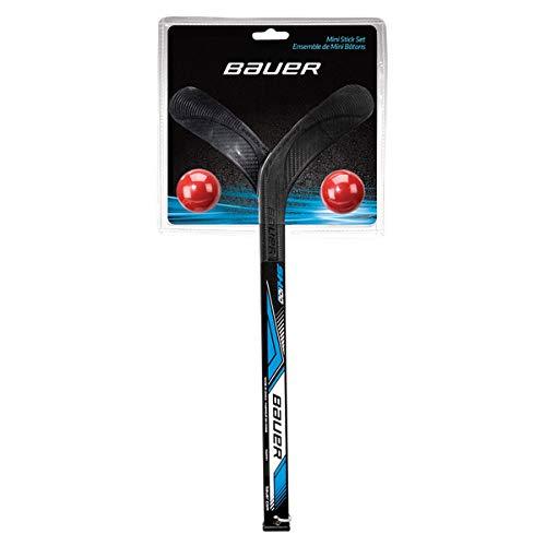Bauer Mini-Stick-Set, Schwarz