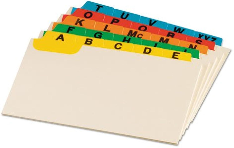 Laminiert Tab Index Card Guides, Alpha, 1 5 5 5 Tab, Manila, 4 x 6, 25 Set 1-Pack B002XJH98M | Qualitätskönigin  b50762