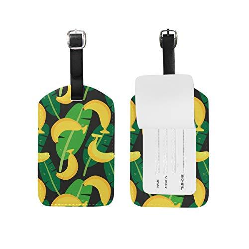 FANTAZIO - Tarjetero, diseño de Hojas de plátano