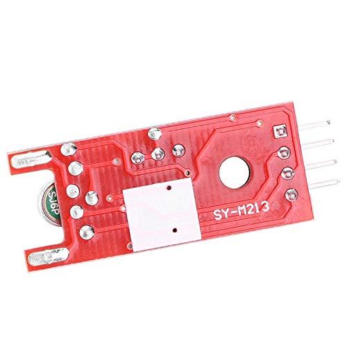5 sensores de sonido para micrófono. Amplificador profesional para equipo de maquinaria.
