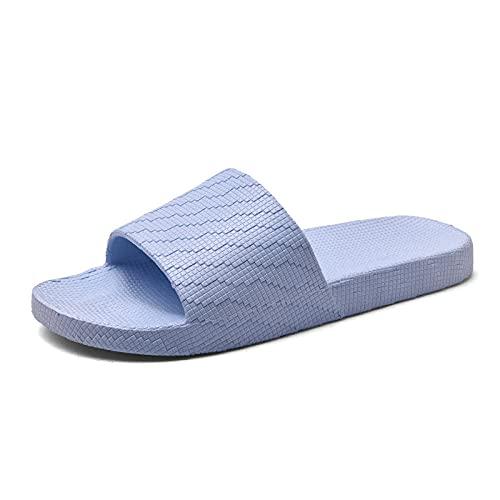 Ciabatte Infradito Pantofola Sandali Pantofole da Bagno Pantofole da Uomo E da Donna Pantofole da Casa Scarpe Coppia Pantofole da Pavimento Morbide Scarpe da Donna Scarpe da Casa-Senape_Blue_37-3