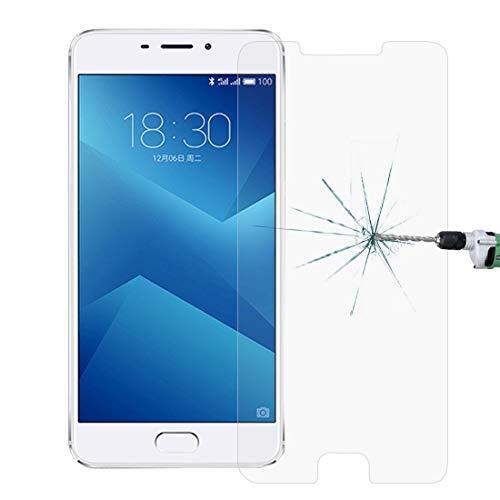 PAN-EX Accesorio del teléfono 100 PCS Meizu M5 Note 0.26mm 9H Dureza Superficial película Protectora Cristal Templado de Pantalla no Llena