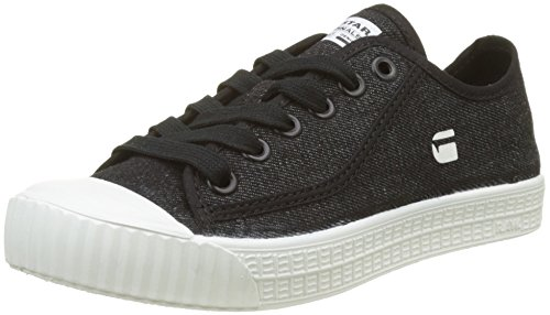 G-STAR RAW Damen Rovulc Low Sneaker, Schwarz (Black 990), 37 EU