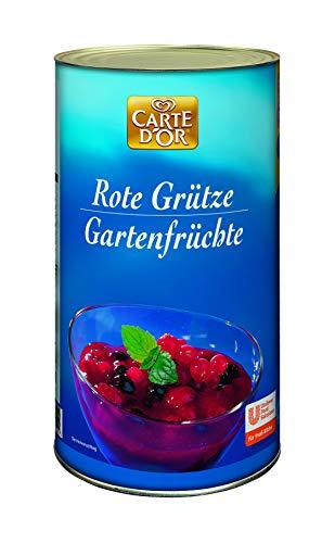 Carte d'Or Rote Grütze (Gartenfrüchte Beerenmischung) 1er Pack (1 x 1,7kg)