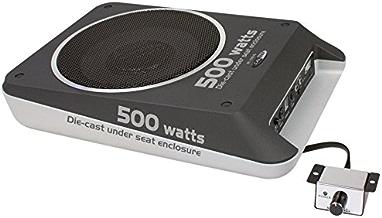 Caliber BC108US - Subwoofer amplificador auto, color negro