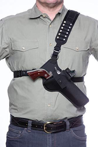 DIAMOND D OUTDOORS Denali Chest Holster - Revolver 5 1/2'...