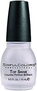 Sinful Colors Professional Nail Polish Enamel 903 Top Shine
