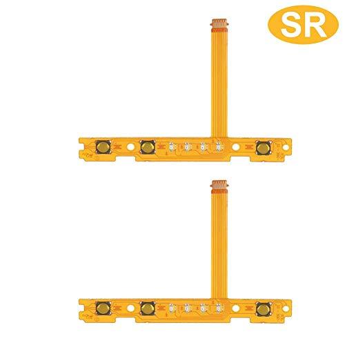 Original-Ersatzteil - Rechts Links SL SR-Taste Schlüsselband Robustes Kunststoff-Flexkabel-Ersatzteil für Nintendo Switch Joy-Con-Controller