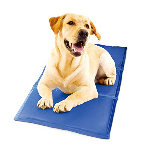 JTENGYAO Pet Cooling Mat Cold Gel Pad for Cats and Dogs - Best for Keeping Pets Cool (19.6x25.5 inch)
