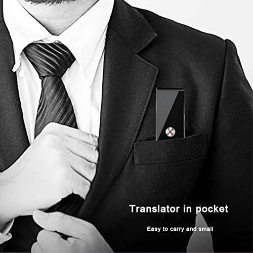 Language Translator Device Smart Two Way Voice Translator Bluetooth Support 44 Languages for Travelling Abroad Learning Shopping Business Chat Recording Translations Photo #7