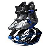 YXRPK Jumping Zapatos Salto Fitness Rebote Botas Antigravedad Elásticos Quemar Calorías Mejora La Condición Física Y Coordina El Fortalecimiento Muscular,L