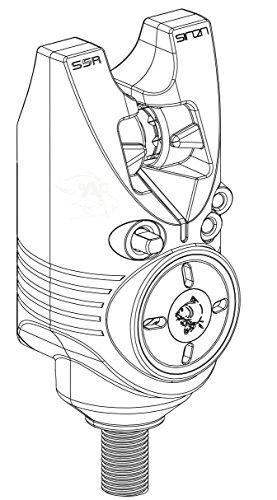 NASH Avvisatore acustico Siren Bite Alarm S5R Avvisatori Attrezzatura Pesca T2942