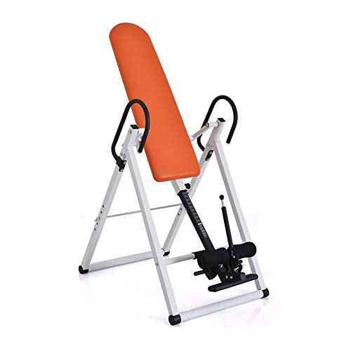 Best Deals! BZLLW Inversion Table Home Adjustable Handstand Machine Exercise Yoga Inverted Stool Sta...
