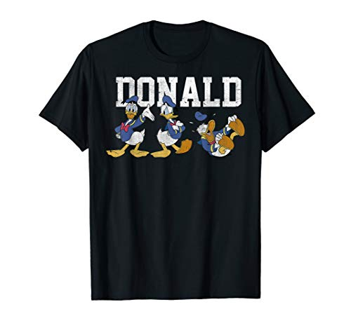 Disney Donald Duck Action Pose Graphic T-Shirt