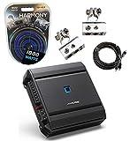 Alpine S-A32F Car Audio Type S 4 Channel 640W Speaker Amplifier & 4GA Amp Kit