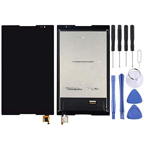 Moonbaby Nieuw LCD-scherm en Digitizer Volledige montage voor Lenovo TAB S8-50 / S8-50F / S8-50LC(zwart), Zwart