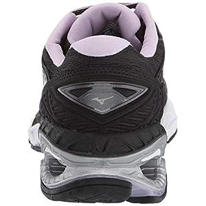 Mizuno Women's Wave Creation 20 Running Shoe, Black, 9 B US