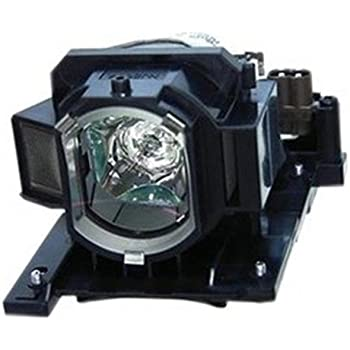 Replacement Lamp Assembly with Genuine Original OEM Bulb Inside for HITACHI CP-WX8255 Projector Power by Philips